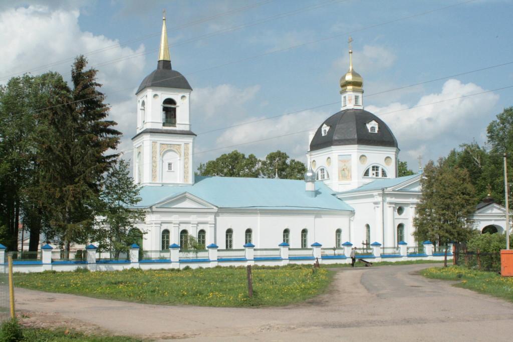 Восресенский храм с. Шипулино для паломничсеского отдела