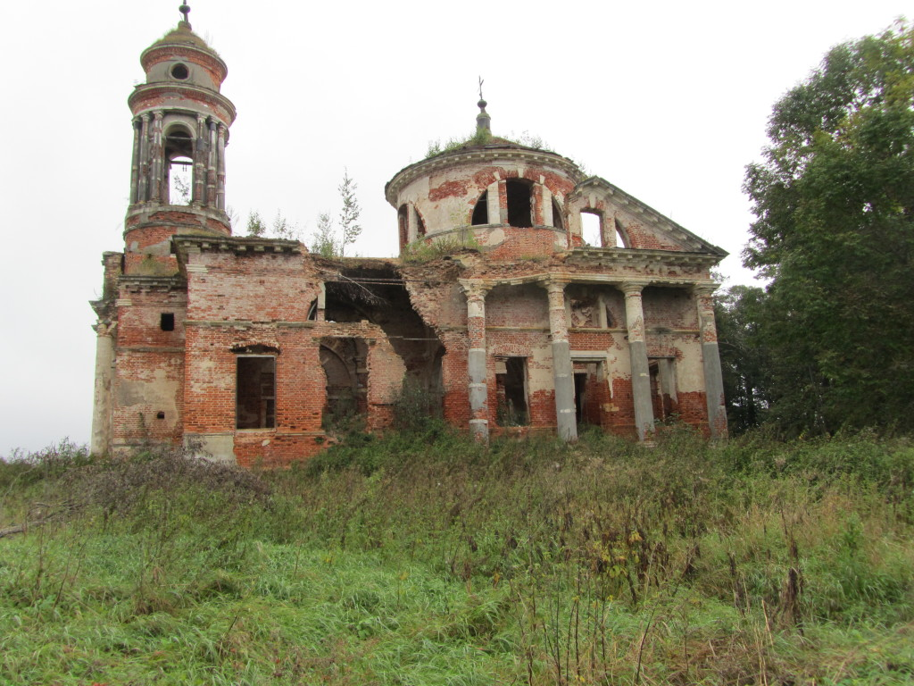Знаменский храм села Теплое, внешний вид