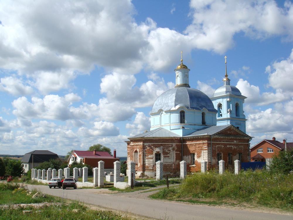 Успенский храм с. Андреевское