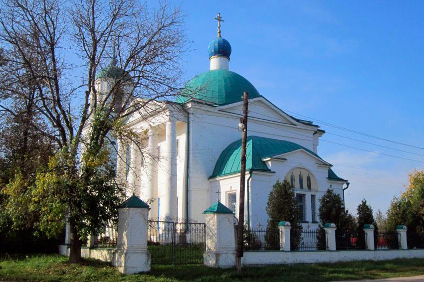 Смоленский храм, с. Воронино