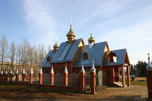 Ильинский храм, пос. Лесной