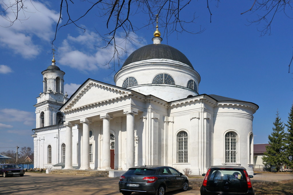 Иоанно-Предтеченский храм, пос. Фряново