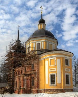 Никольский храм, с. Подъячево