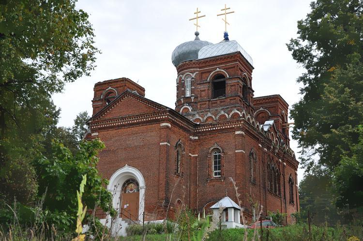Покровский храм, с. Марьинское