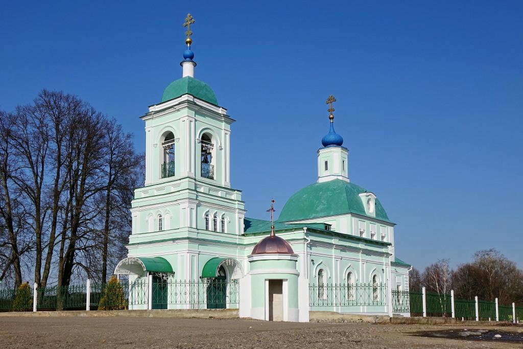 Троицкий храм, с. Рязанцы