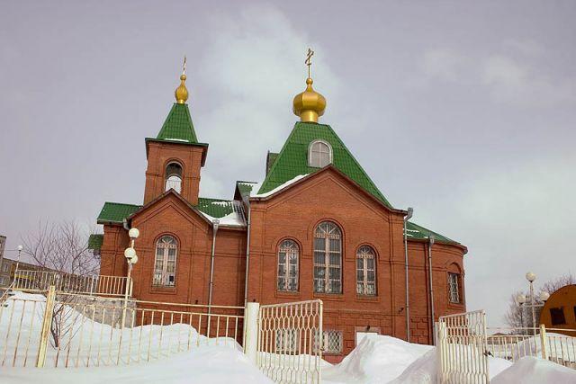 Христорождественский храм, г. Луховицы